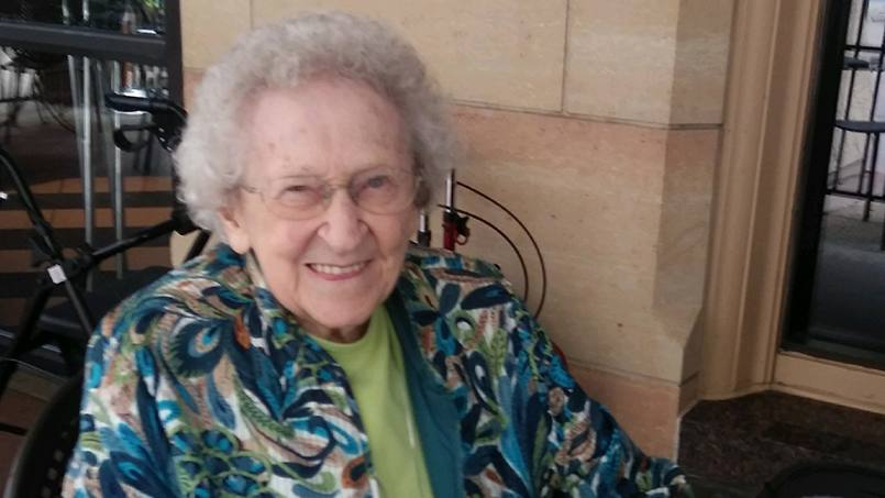 Sister Lauren Weinandt recently received a special birthday concert from Mayo Clinic Carillonneur Austin Ferguson ahead of her upcoming 97th birthday, and ahead of the carillon's upcoming major restoration and refurbishing.