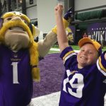 Care Team, Minnesota Vikings Team Up to Make Young Patient's Dreams Come True