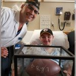 'It Belongs With Him' -- Mayo Surgeon Gives Patient Signed Football