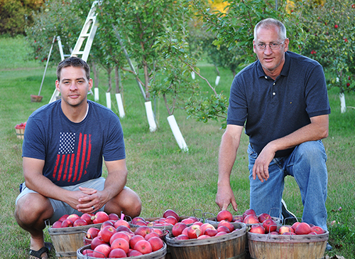Steve Eckdahl: Apple Orchard Owner by Day, Lab Specialist by Night