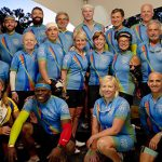 They Won't be Derailed -- Mayo Team Bikes to Advance MS Research