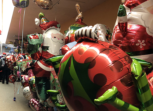 Balloon Brigade Floats in to Spread Holiday Cheer to Pediatric Patients