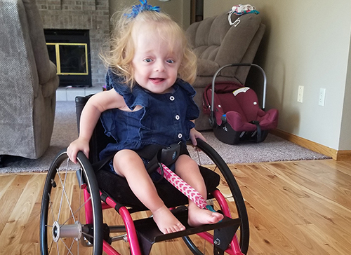 Brittle Bone Disease Can't Dim Toddler's Unbreakable Spirit
