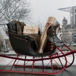 Dashing Through the Snow: Vintage Sleigh Display Comes to Mayo Clinic