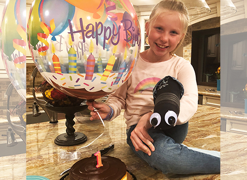 A Year After Losing Her Leg to Cancer, 10-Year-Old Abri Bentley is On the Move