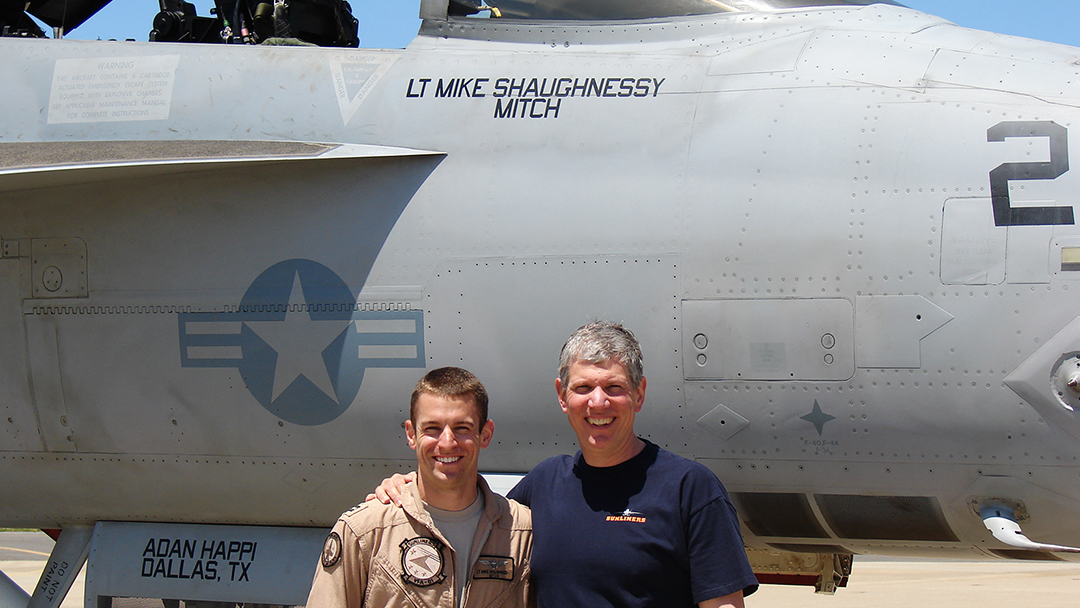 Mayo Surgeon's Son Participates in Flyover for President George H W