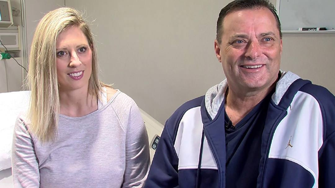 Ericka Downey and Billy Gillispie