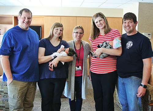 Baby, Baby -- Sisters Give Birth the Same Day in the Same Hospital