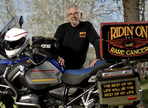 Ridin' On: One Man's Mission to Spread Cancer Awareness from Coast to Coast