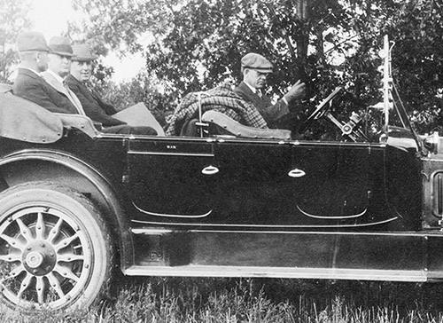 Driver's Grandson Had a Front Seat to Mayo's History