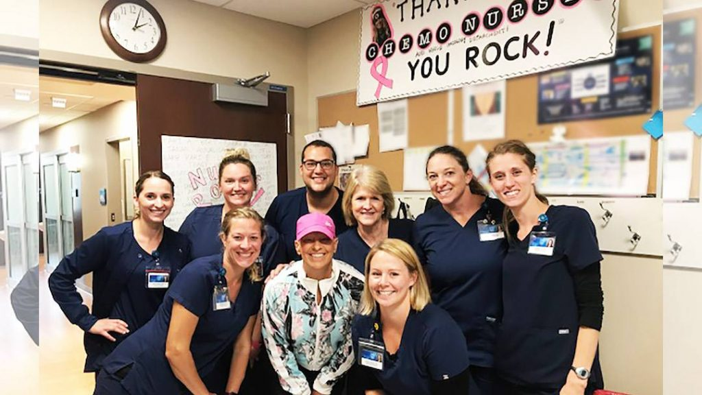 Jean Hastings had always wanted to be a part of a flash mob, and finishing chemotherapy at Mayo Clinic seemed like just the right time to make it happen.