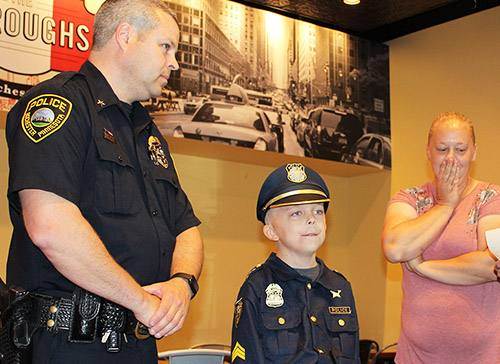Young Mayo Patient Joins Rochester Police Department