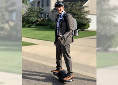 Alternative Transportation Balancing Act: Mayo Surgeons Give Onewheels a Spin