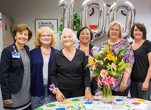 Celebrating Life: 100 is Just a Number for This Busy Volunteer