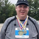 Two Years After Stroke, Justin Lanners Wins Age Group in Half-Marathon Walk