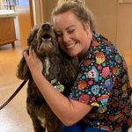 Dog Days Bring Joy to Staff in Community Pediatric and Adolescent Medicine