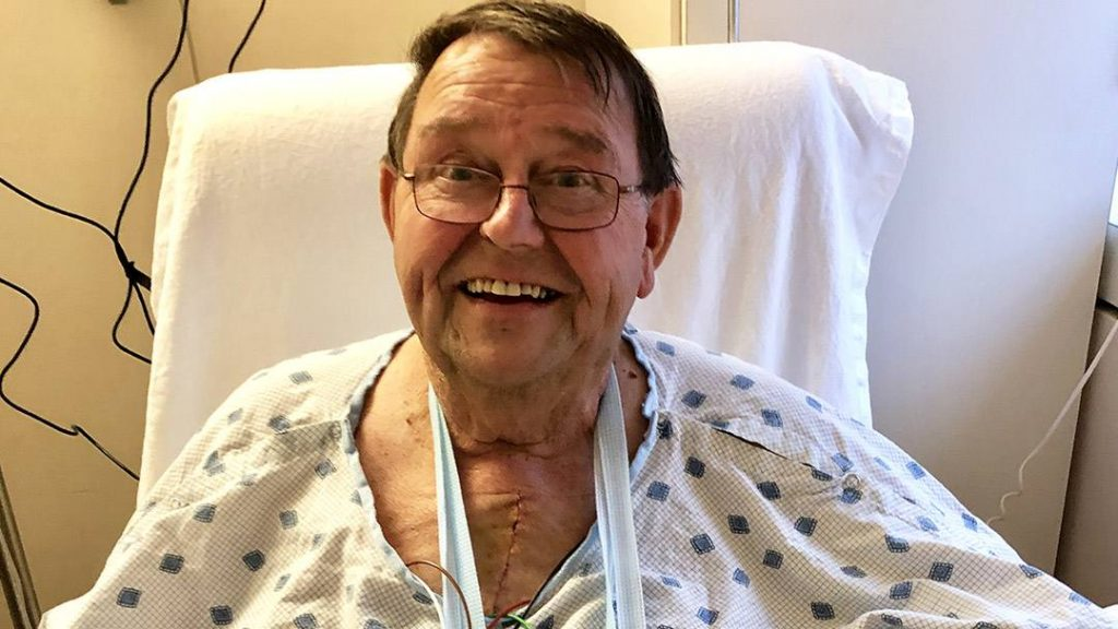 Larry Oelkers was just about to leave a high school football game when he went into cardiac arrest. His community jumped in to help save his life.