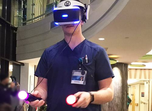 Virtual Reality Gaming Helps Patients Step Out of Their Own Realities
