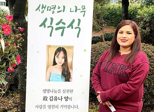 Mayo Transplant Patient Travels to South Korea to Help Spread the Magic of Organ Donation