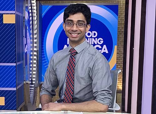 Mayo Resident Provides Expertise to ABC -- and the Nation -- During COVID-19