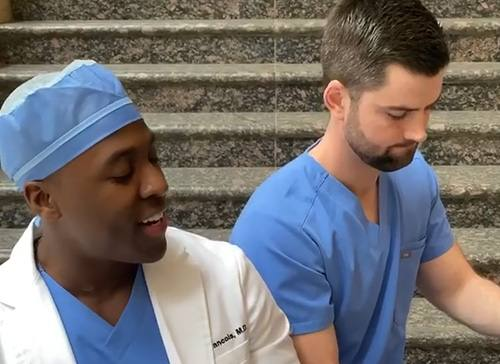 Singing Surgeon: 'The Only Way to Overcome This Pandemic Is For Us to All Come Together As One'