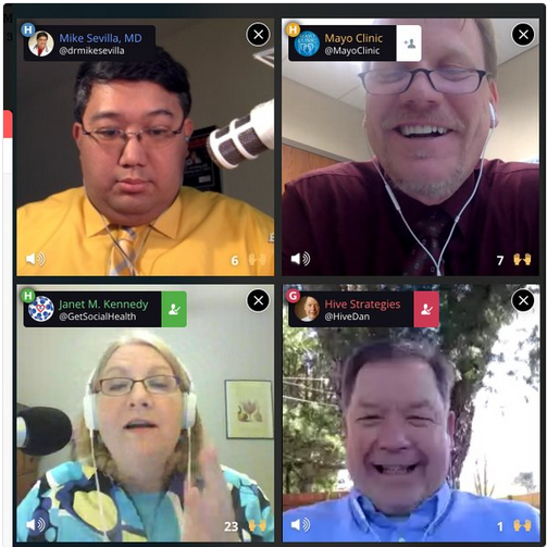 March Webinar: Mayo Clinic Social Media Network on Blab