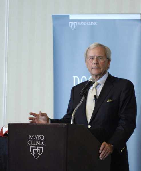 Multiple myeloma research and possible cures highlighted as Tom Brokaw writes about his experience