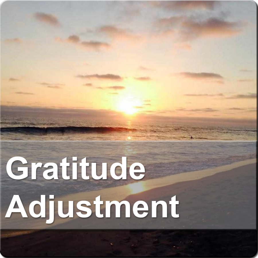 Gratitude Adjustment