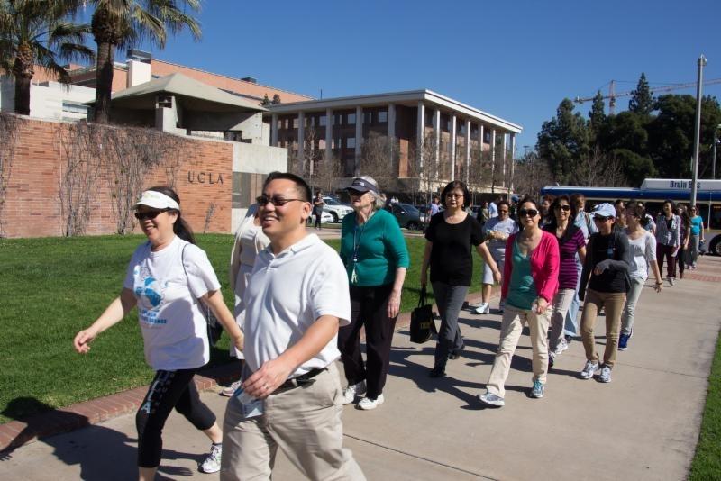 National Walking Day Campus Walk