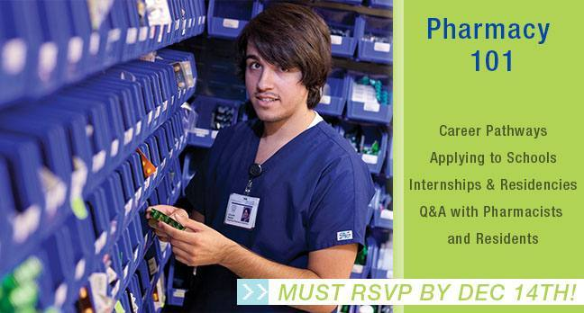 RSVP's DUE for Pharmacy 101 Educational Session