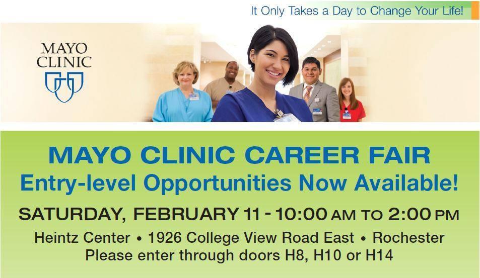 Mayo Clinic Career Fair
