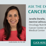 Have a Question about Nutrition and Cancer? Ask the Expert!