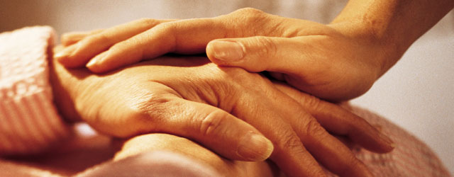 Picture of hand holding
