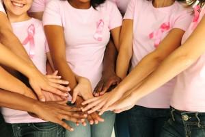 cancer survivors holding hands