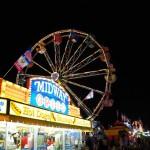 Image of fair with ferris wheel