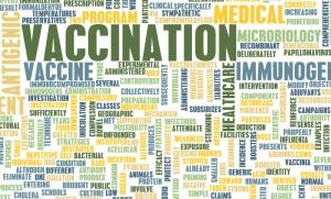 Vaccine word cloud