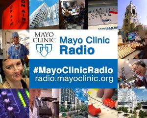 Montage of Mayo Clinic Radio pictures