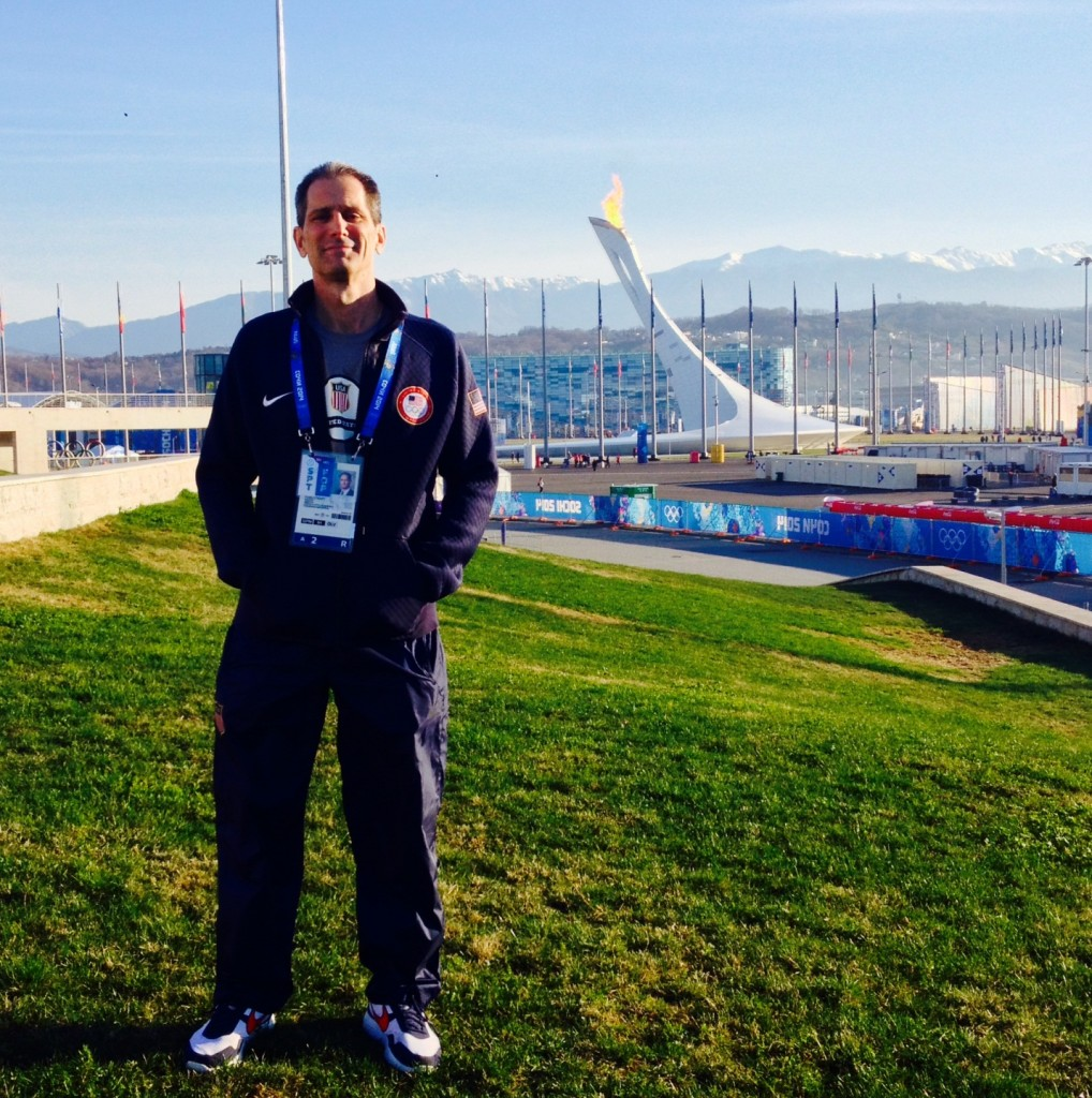 Dr. Michael Stuart at Sochi Olympics