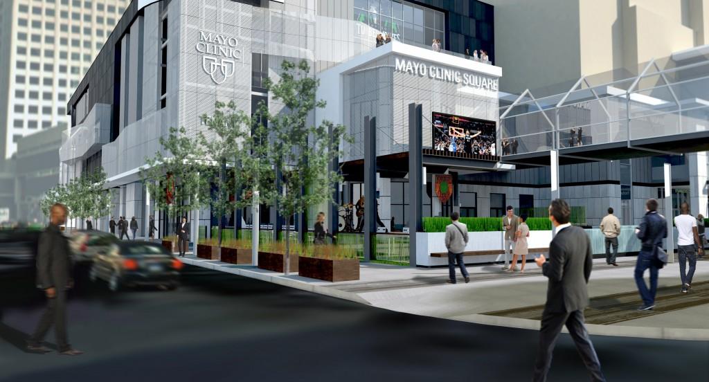 Mayo Clinic Square - Minneapolis Sports Center