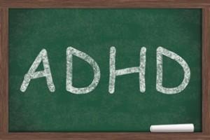 Pizarra que dice TDAH
