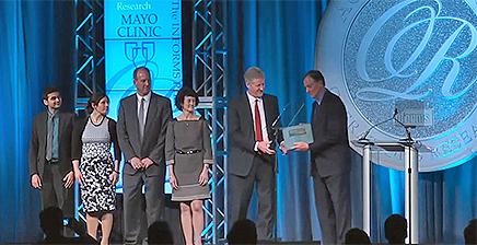 Mayo Clinic team receives Informs award