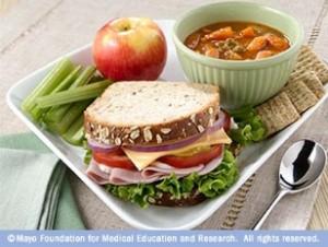 comida con baja densidad energética