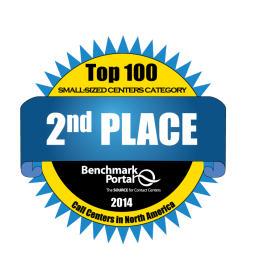 Second Place Award Logo for Benchmark Portal