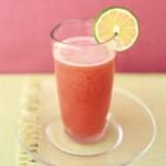Watermelon-cranberry agua fresca nutritious drink