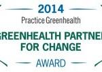 Greenhealth Practice for Change Award logo