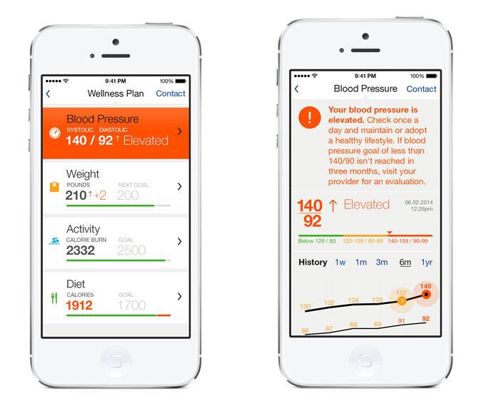 HealthKit App Screenchot Examples