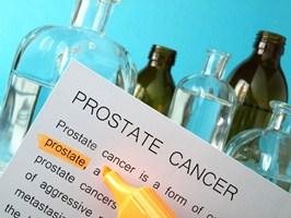 Documento del laboratorio que indica la presencia de cáncer de próstata