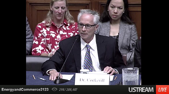 Dr. Frank Cockerill LIVE at Capitol Hill roundtable on personalized medicine