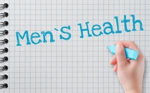 the words Men's Health written on notebook paper