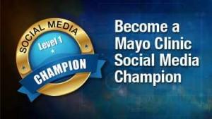Mayo Clinic Social Media Champion banner final small